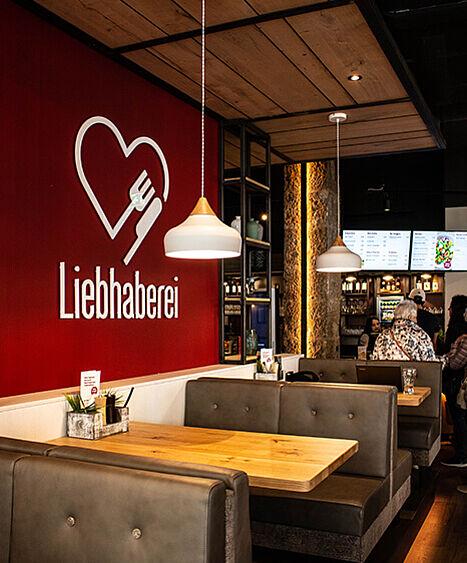 Liebhaberei-Linz, Lieblingsplatz, Restauranteinrichtung, Bar einrichtung
