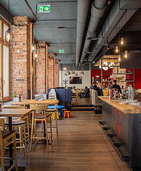 Liebhaberei-Linz, Restaurant einrichtung, Lichtkonzept, Lichtplanung, Bar rustikal, Wirtshaus rustikal