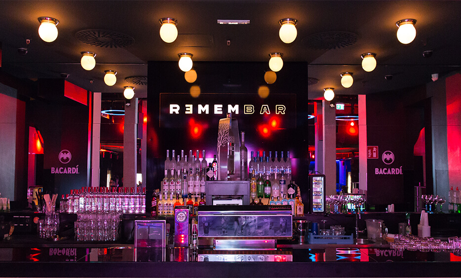remembar linz, bar design, club einrichtung, dico design, club design, theken design